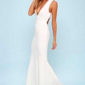 "Lulu's ""Heaven and Earth"" White Gown"